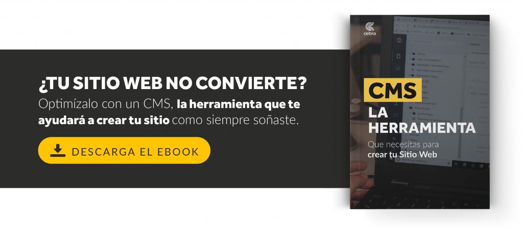 Ebook CMS para sitios web