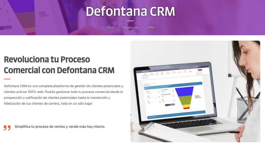Defontana CRM
